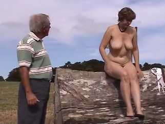 MJ - Country Walk strip mature voyeur video