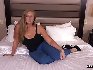 Ginger gets thick ass fucked POV anal redhead milf video
