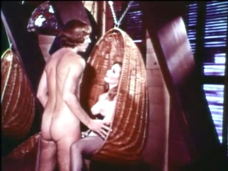 Vintage Music Video for over 55's compilation threesome cumshot video
