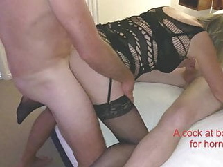 2's company & 3's better part 4 mature stockings milf video