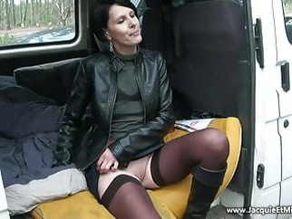 Sophie fucks with unknown guys in a forest amateur brunette hardcore video