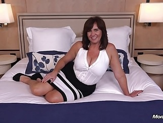 Thick busty Cougar MILF loves young cock milf old & young pov video