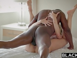BLACKED Cheating MILF Brandi Loves First Big Black Cock blonde blowjob cumshot video