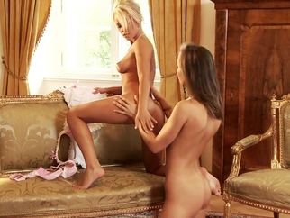 Crazy xxx movie Lesbian watch will enslaves your mind lesbian blond  video